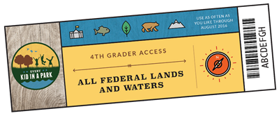 Connect Kids Federal Kids Pass