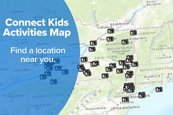 Connect Kids Map