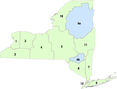 New York State Park Regions